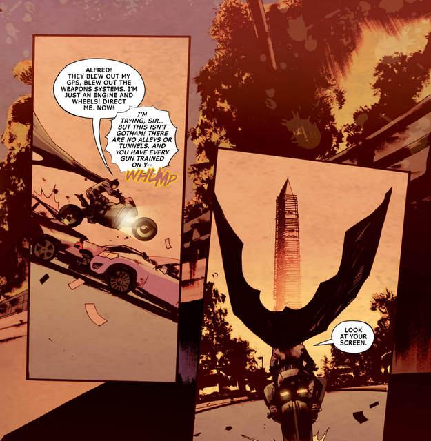 All-Star Batman #9 interior art