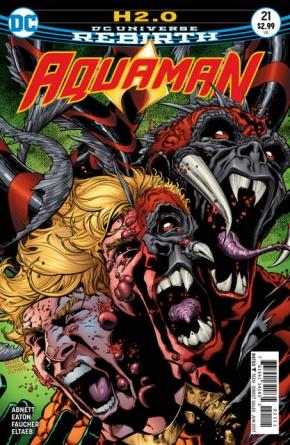 Aquaman #21 cover