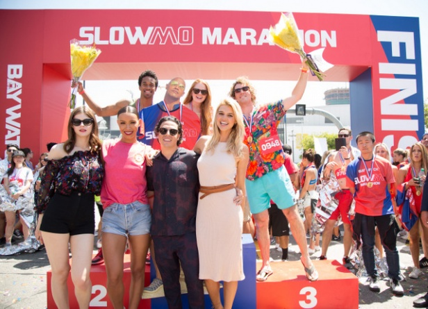 Baywatch just held an epic SloMo Marathon that turned into a reunion