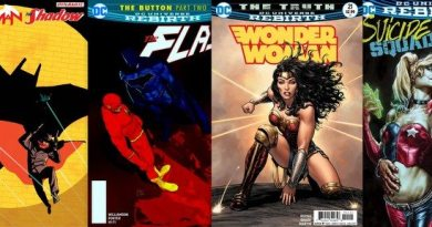 DC Comics reviews for the week of 4/26/17