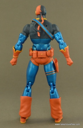 DC Icons Deathstroke the Terminator figure review -rear side