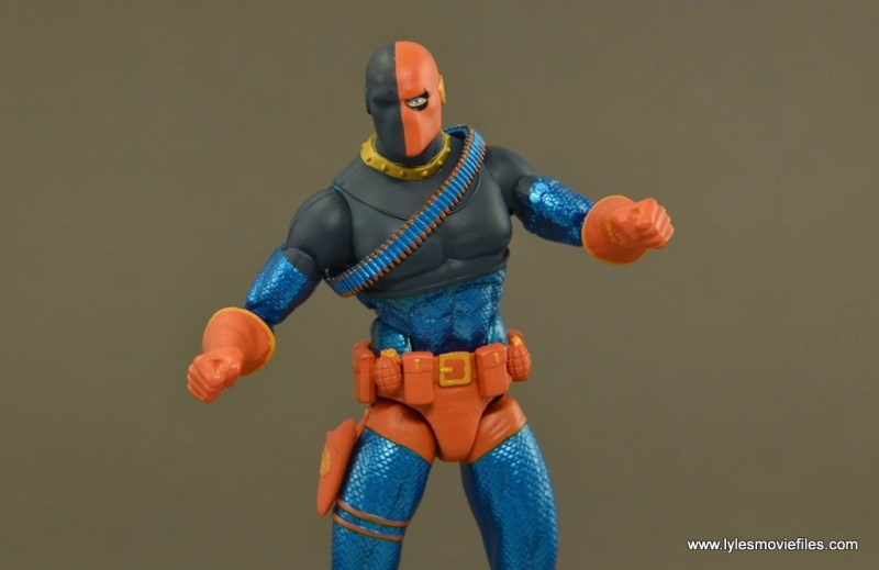 DC Icons Deathstroke the Terminator figure review -wide pose