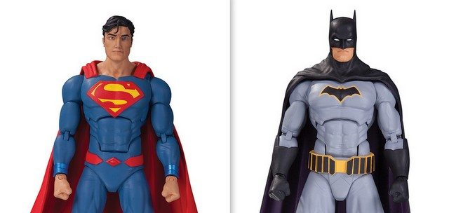 DC Icons Superman and Batman