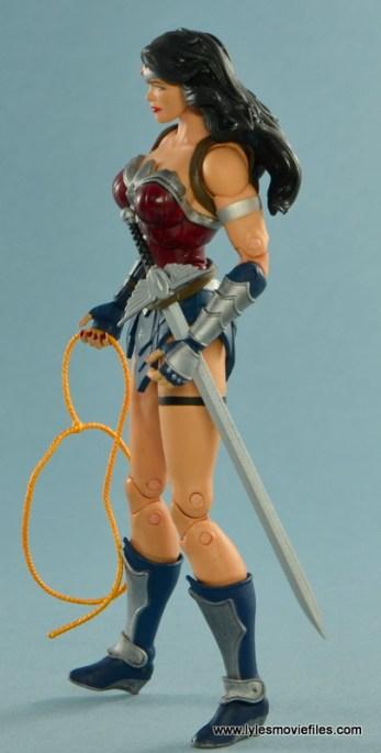 DC Icons Wonder Woman figure review -left side
