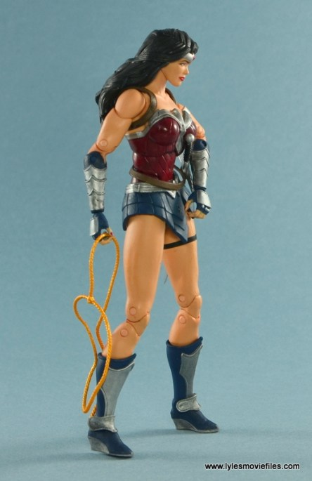 DC Icons Wonder Woman figure review -right side