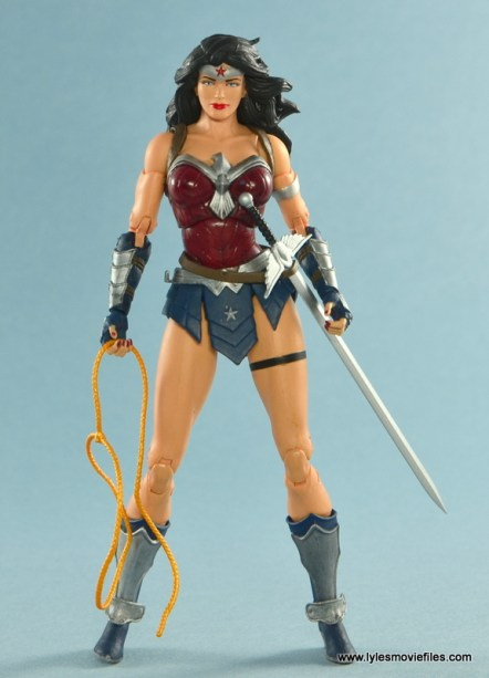 DC Icons Wonder Woman figure review -straight