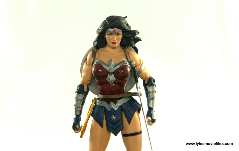 DC Icons Wonder Woman figure review -wide pose