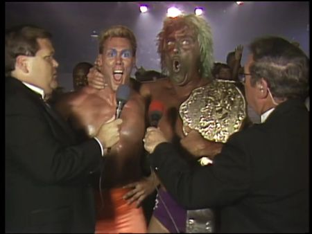 Great American Bash 1989 - Sting and Ric Flair