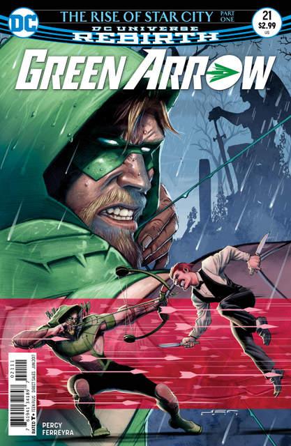 Green Arrow #21 cover