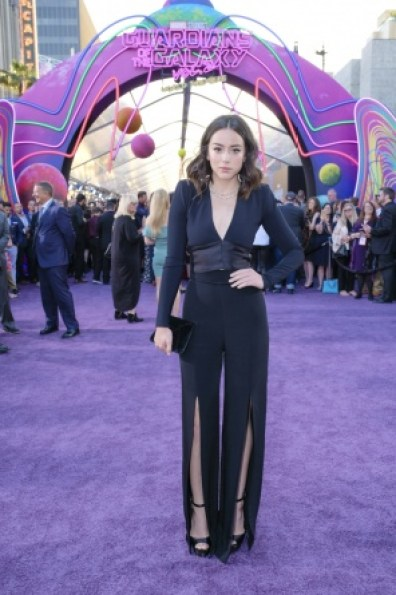Guardians of the Galaxy Vol. 2 Hollywood premiere -Chloe Bennet 2