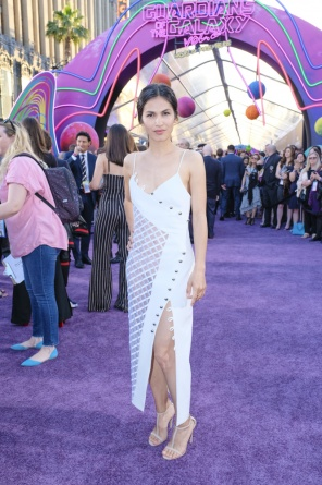 Guardians of the Galaxy Vol. 2 Hollywood premiere - Elodie Yung 2