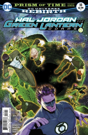 Hal Jordan and the Green Lantern Corps #18 cover