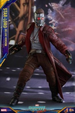 Hot Toys Guardians of the Galaxy Vol. 2 Star-Lord deluxe figure -mask up ready