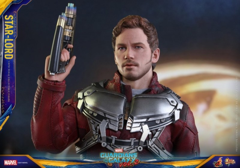 Hot Toys Guardians of the Galaxy Vol. 2 Star-Lord figure -one gun