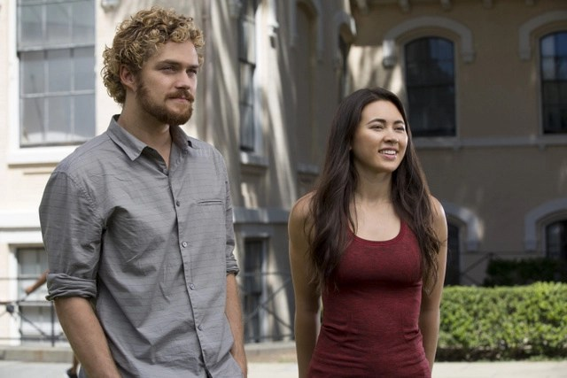 Iron Fist Black Tiger Steals Hearts Danny and Colleen - Finn Jones and Jessica Henwick