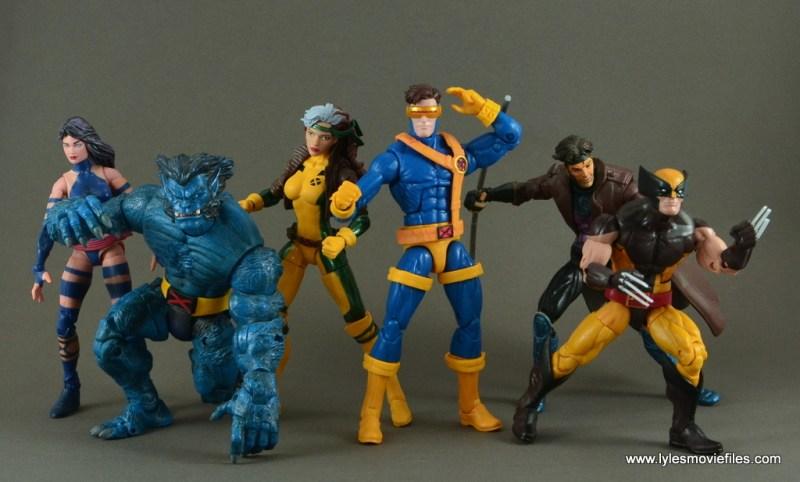 Marvel Legends Cyclops figure review -Jim Lee X-Men
