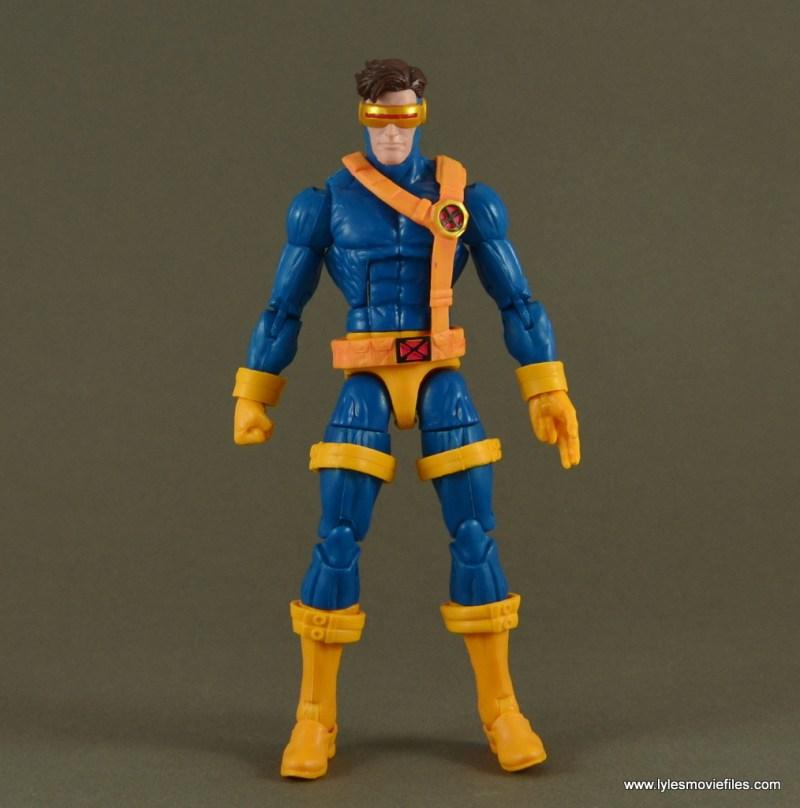 Marvel Legends Cyclops figure review -loose bands