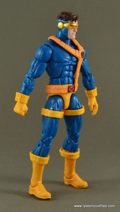 Marvel Legends Cyclops figure review -right side