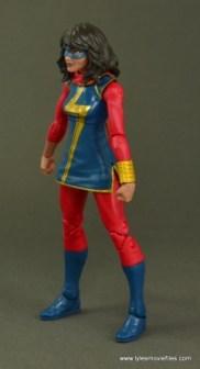 Marvel Legends Ms. Marvel figure review -left side
