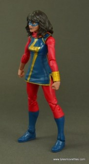 Marvel Legends Ms. Marvel figure review -left side