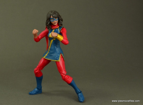 Marvel Legends Ms. Marvel figure review -ready for battle