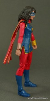 Marvel Legends Ms. Marvel figure review -right side