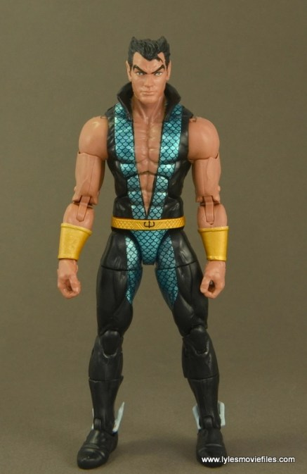 Marvel Legends Namor figure review - front side