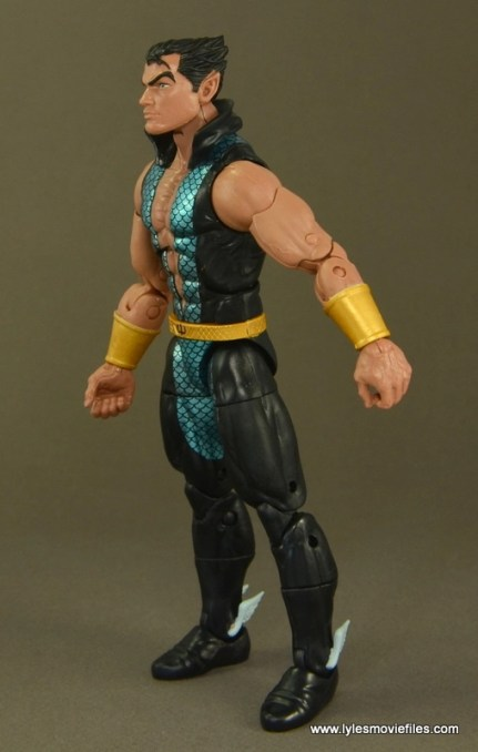 Marvel Legends Namor figure review -left side