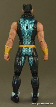 Marvel Legends Namor figure review - rear side
