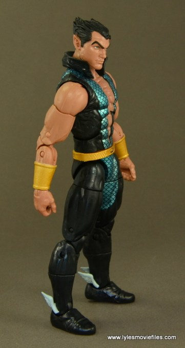 Marvel Legends Namor figure review -right side