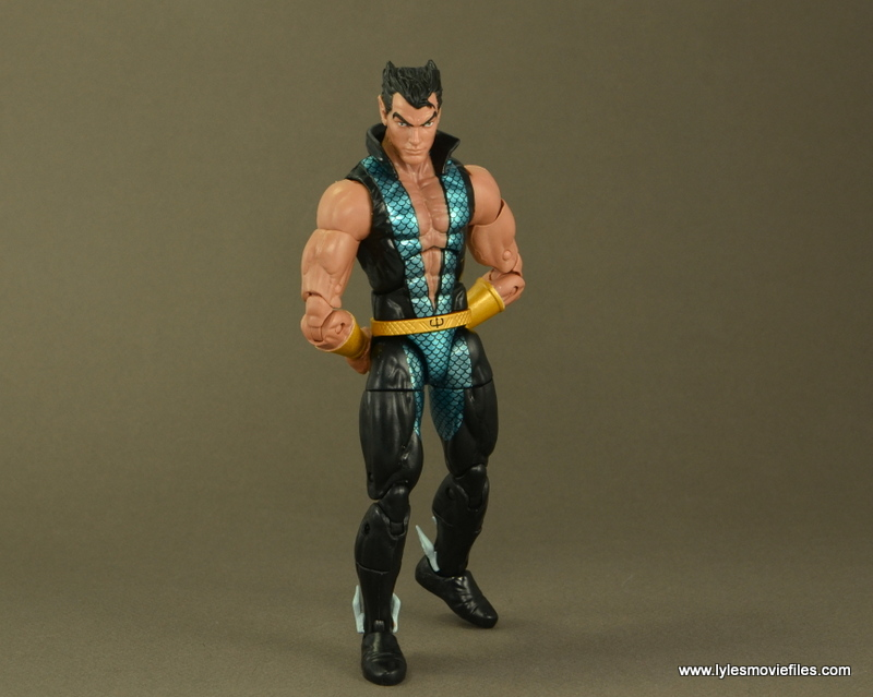 Marvel Legends Namor figure review -royal pondering