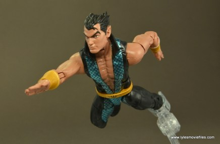 Marvel Legends Namor figure review -swimming forward