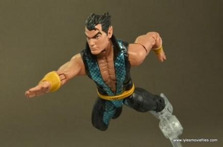 Marvel Legends Namor figure review -swimming forward