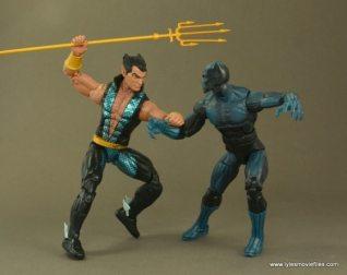 Marvel Legends Namor figure review - vs Black Panther