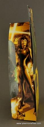 Marvel Legends Polaris figure review - package side
