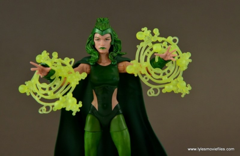 Marvel Legends Polaris figure review - power up