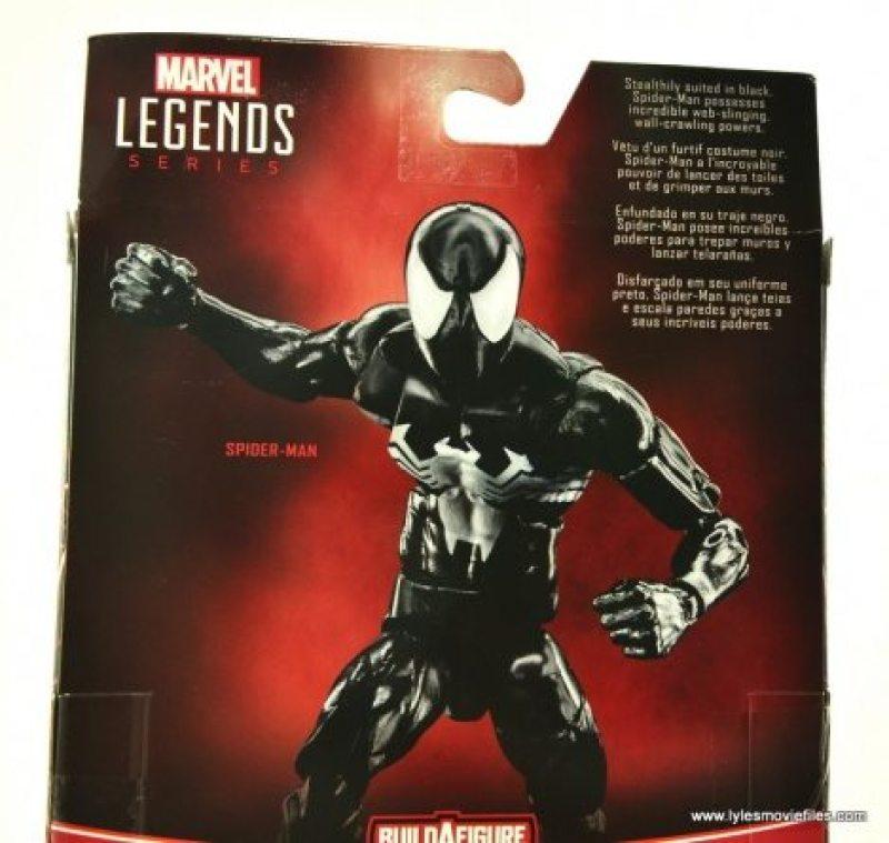 Marvel Legends Symbiote Spider-Man figure review - bio