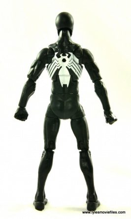 Marvel Legends Symbiote Spider-Man figure review - rear