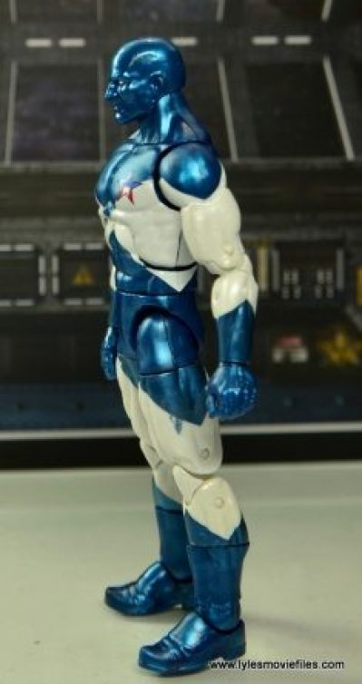 Marvel Legends Vance Astro figure review - left side