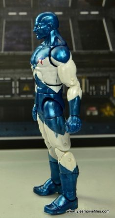 Marvel Legends Vance Astro figure review - left side