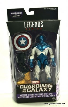 Marvel Legends Vance Astro figure review - package front