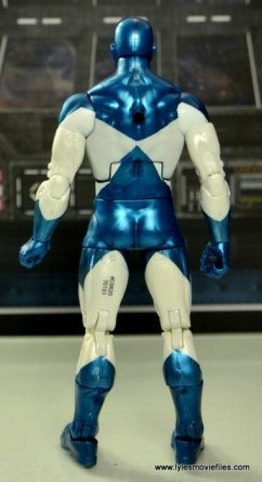 Marvel Legends Vance Astro figure review - rear side