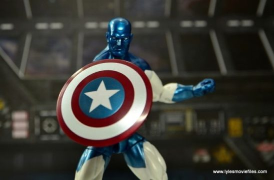 Marvel Legends Vance Astro figure review - shield up
