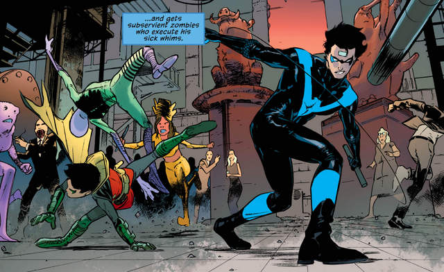 Nightwing #18 interior art