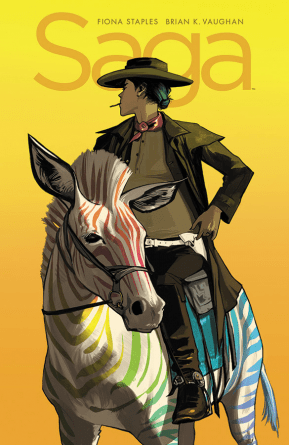 Saga #43 regular cover