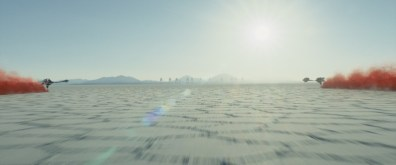 Star Wars Episode VII - The Last Jedi trailer images - AT-ATs in distance