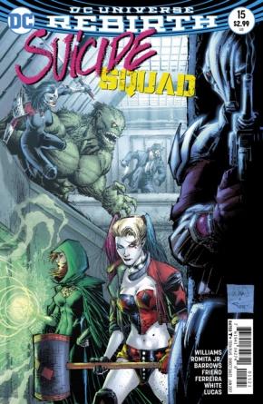 Suicide Squad #15 cover