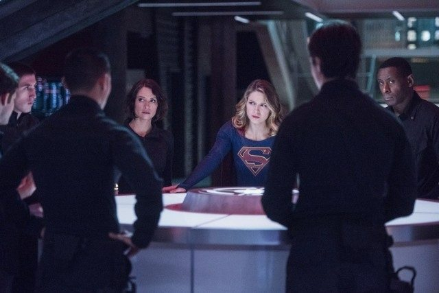 Supergirl The Martian Chronicles - Supergirl, Alex and J'onn