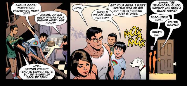 Superman #21 interior art