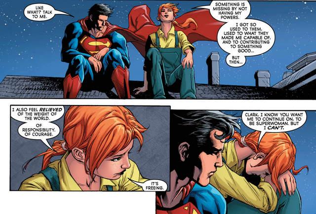Superwoman #9 interior art